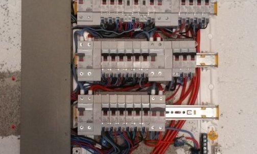 Installation tableau électrique Beauchastel